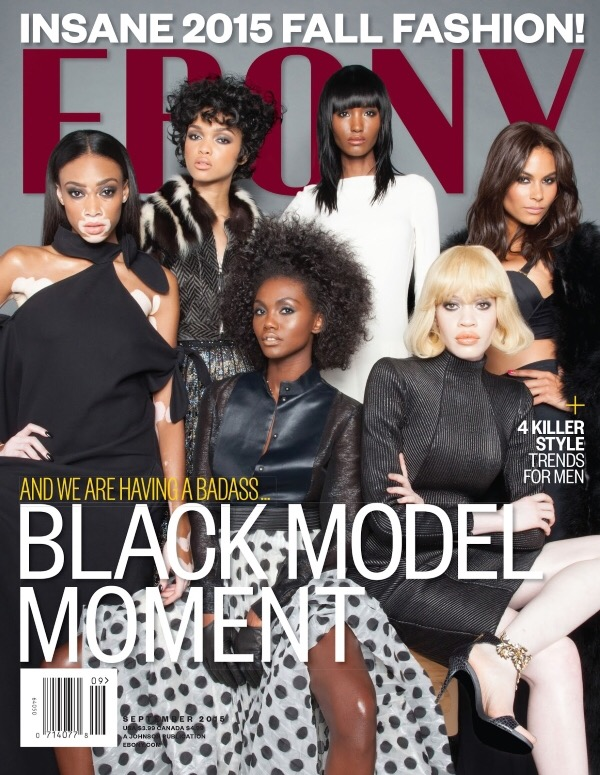 301e718215 Read more after the jump… Next month Ebony magazine honors the many  beautiful shades of Black models on the September cover. It s no surprise  that designers ...